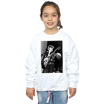 David Bowie Girls Smiling Guitar Sweatshirt