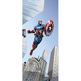 Captain America Mural for doors and Walls