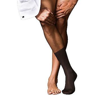 Falke No7 najlepšie Merino ponožky-hnedá
