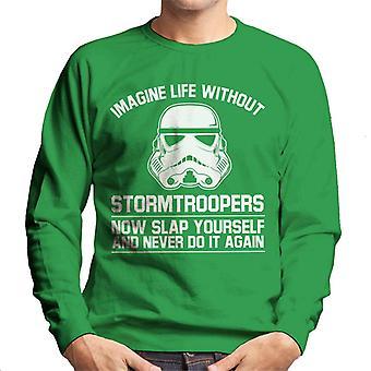 Oprindelige Stormtrooper forestille sig livet uden mænds Sweatshirt