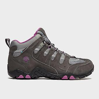 New Hi Tec Women's Saunter Waterproof Walking Shoes Dark Grey