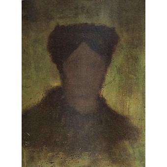 Bauernfrau, Kopf, Vincent Van Gogh, 47,5 x 34,5 cm