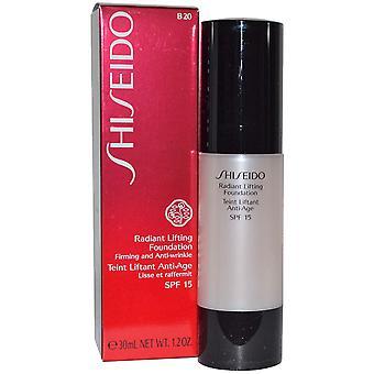 Shiseido Radiant opheffing Stichting SPF15 30ml - B00 zeer licht Beige
