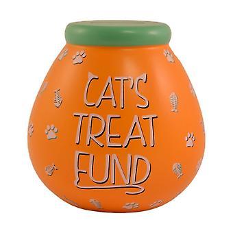 الأواني من الأحلام القط علاج صندوق المال وعاء