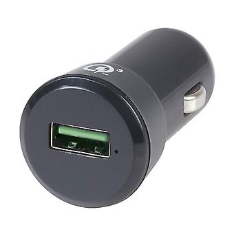 3A Quick Charge 3.0 USB Car Cigarette Lighter Adaptor