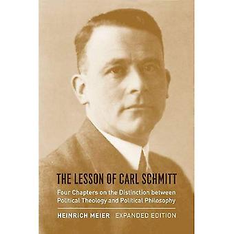 Carl Schmitt oppitunti: neljä lukua toisistaan poliittinen teologia ja poliittinen filosofia...