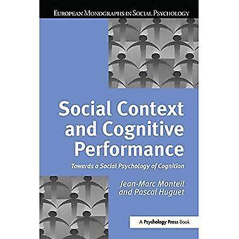 Maatschappelijke context en cognitieve prestaties
