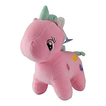 Unicorn with hearts, stuffed toys/stuffed animals-Pink