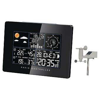 Indoor and outdoor weather station with wind sensor