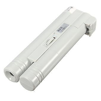 Powiększenie 40 x mikroskopu kieszeni z DIODĄ LED x2 AA Baterie z regulowaną ostrością koło TRIXES