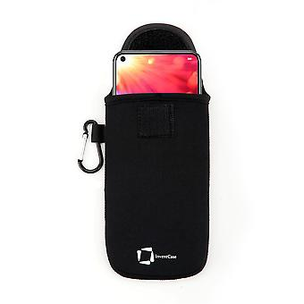 InventCase Neoprene Protective Pouch Case for Honor View 20 2019 - Noir