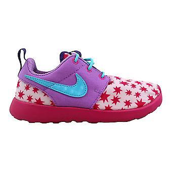 Nike Roshe One Print Prism Pink/Blue-Fuchsia 749347-604 Pre-School