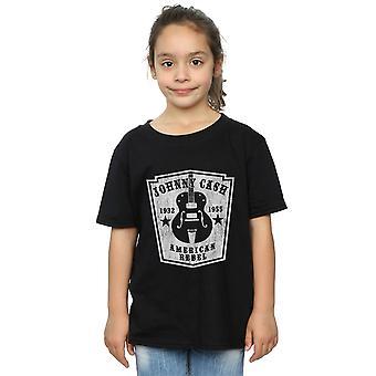 Johnny Cash Girls Rebel Guitar T-Shirt