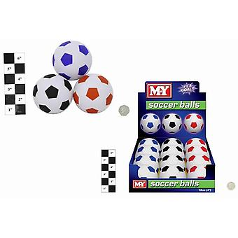 """12 förpackningar av 4"""" M.Y fotbollar i Display Box"""