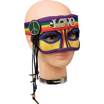 Maskerade Hippie Regenbogen