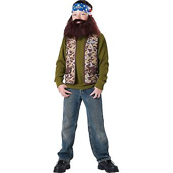 Willie Costume For Children From Duck Dynasty