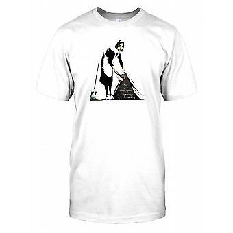Banksy Maid - kaupunkien Art Miesten T-paita