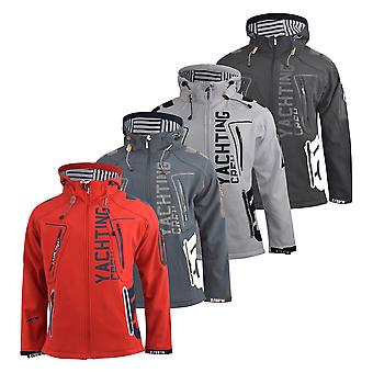 Mens softshell jacket geographical norway toublerona