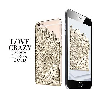 iPhone 6/6s angelwings shell Gold