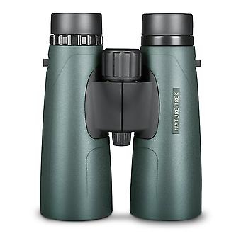 Hawke Nature Trek Binoculars - BAK 4 Roof Prism - 10x50 Green - latest version