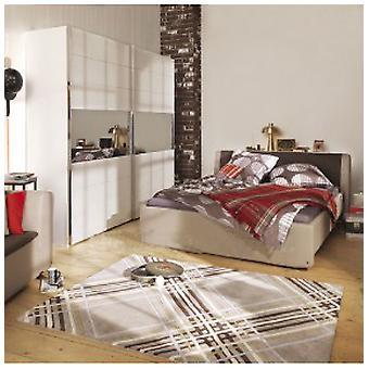 Teppiche - Tom Tailor - große Check grau