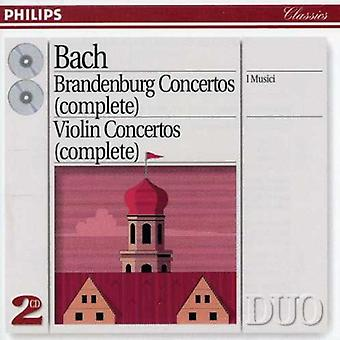 J.S. Bach - Bach: Brandenburg Concertos (Complete) [CD] USA import