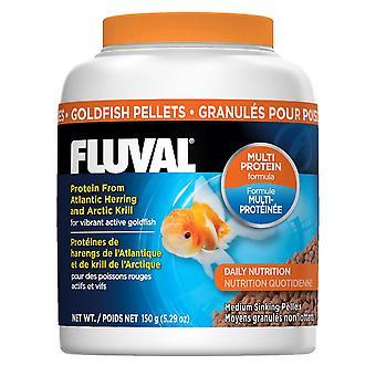 Fluval Goldfish 3mm Sinking Pellets 150g