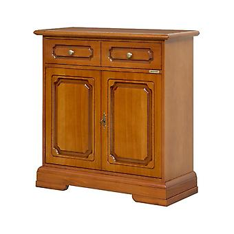Klassische Holzcredenzina 2 Türen 1 Drawer