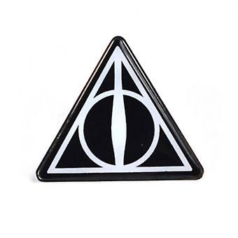 Harry Potter insigna email Deathly Hallows logo-ul nou oficial negru