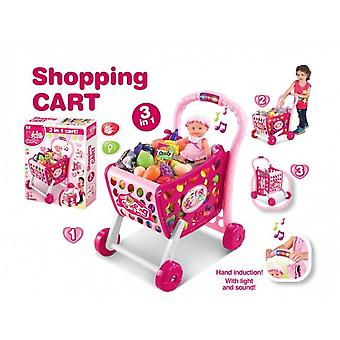 3 In1 Shopping Cart With Sound