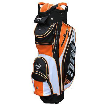 Masters T900 carro carro bolsa de golf negro / blanco / naranja