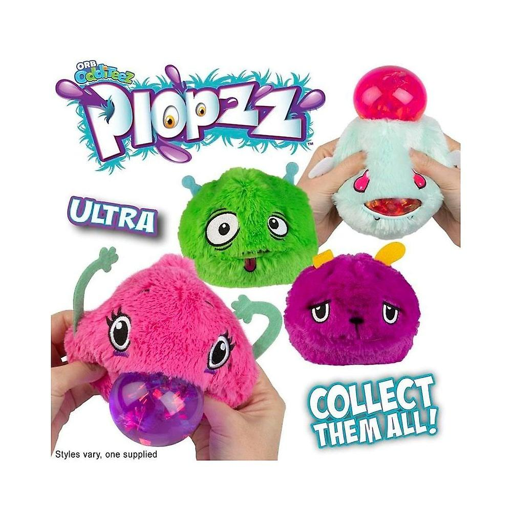 Odditeez Plopzz Slime fylld Ultra plysch (LIME)