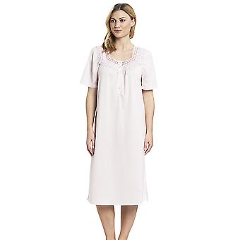 Féraud 3883174 Mulheres's Cotton Lace Night Gown Loungewear Night DressDress Night Dressdress Nightdress Nightdress