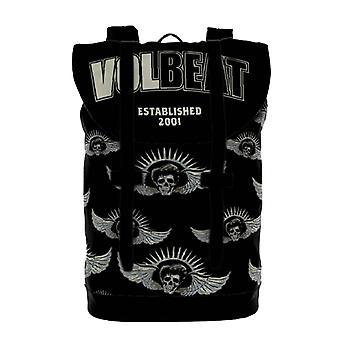 Volbeat Backpack Heritage Bag Established All over print Band Logo Official