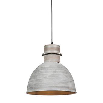 QAZQA Country hanging lamp gray - Dory