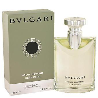 Bvlgari Extreme Eau De Toilette Spray By Bvlgari   417777 100 ml