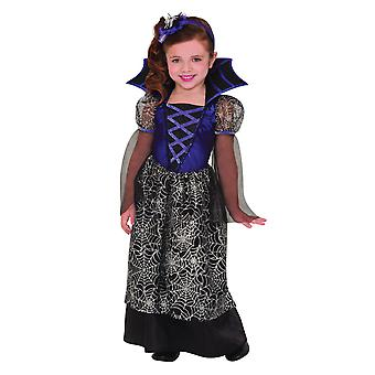 Mädchen Miss Wicked Web Halloween Fancy Kleid Kostüm