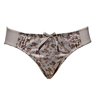 Parfait by Affinitas Bess Bikini Panties Cream & Coffee Womens