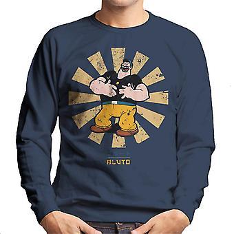 Bluto Retro Japanese Popeye Men's Sweatshirt