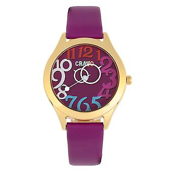 Crayo Spirit Unisex Watch - Purple