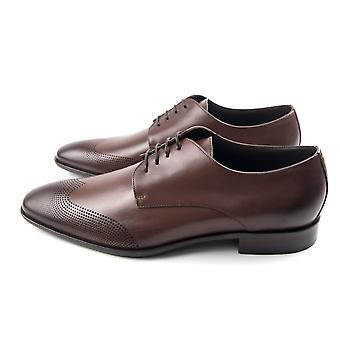 Hugo Boss Chelsea Derby sko brun