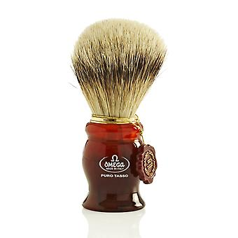 Omega 622 1st Grade Super Badger Hair Shaving Brush