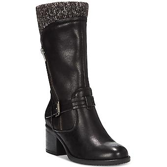 Bare Traps Womens Weslin Closed Toe Mid-Calf Fashion Boots