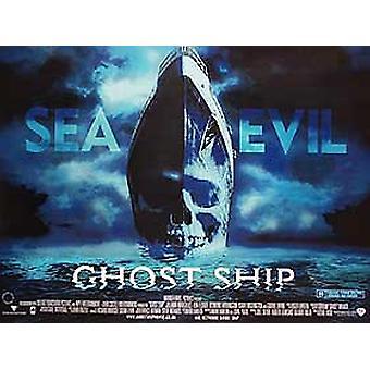 Ghost Ship (kaksipuolinen) alkuperäinen elokuva juliste