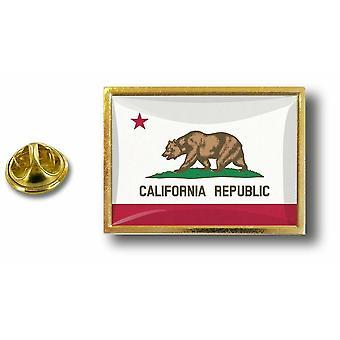 باين الصنوبر دبوس شارة دبوس أبوس؛ s فراشة معدنية الفراشة العلم الولايات المتحدة الأمريكية كاليفورنيا