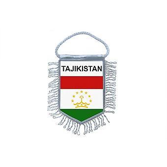 العلم الصغير العلم البلد زخرفة السيارات الطاجيكية الطاجيكية