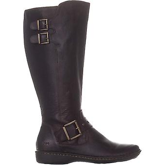 B.O.C Womens Oliver Leather Round Toe Knee High Fashion Boots