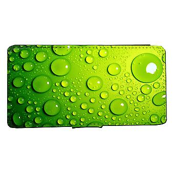 iPhone 7/8 wallet case Green bubbles picture Case shell