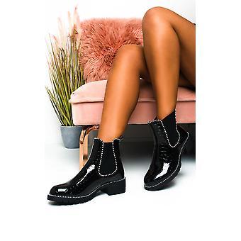 IKRUSH النساء جيما كروك طباعة أحذية الكاحل براءات الاختراع