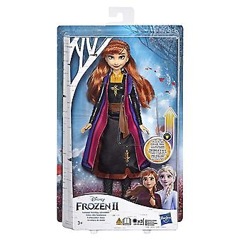 Frozen 2 Anna Autumn Swirling Adventure Doll